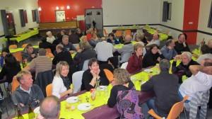 Plus de 70 personnes étaient venues déguster le Beaujolais Nouveau